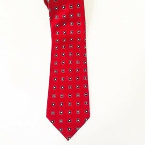 Donald J. Trump Signature Collection Red Silk Tie